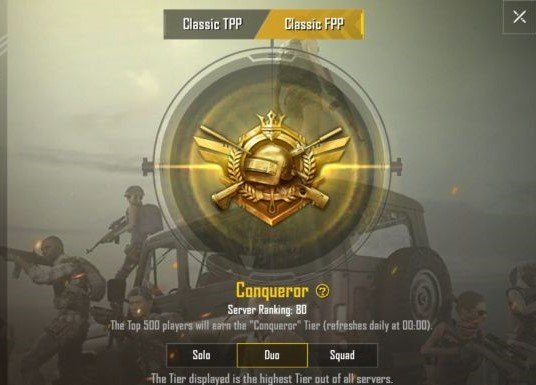 conqueror in pubg mobile winner winner chicken dinner