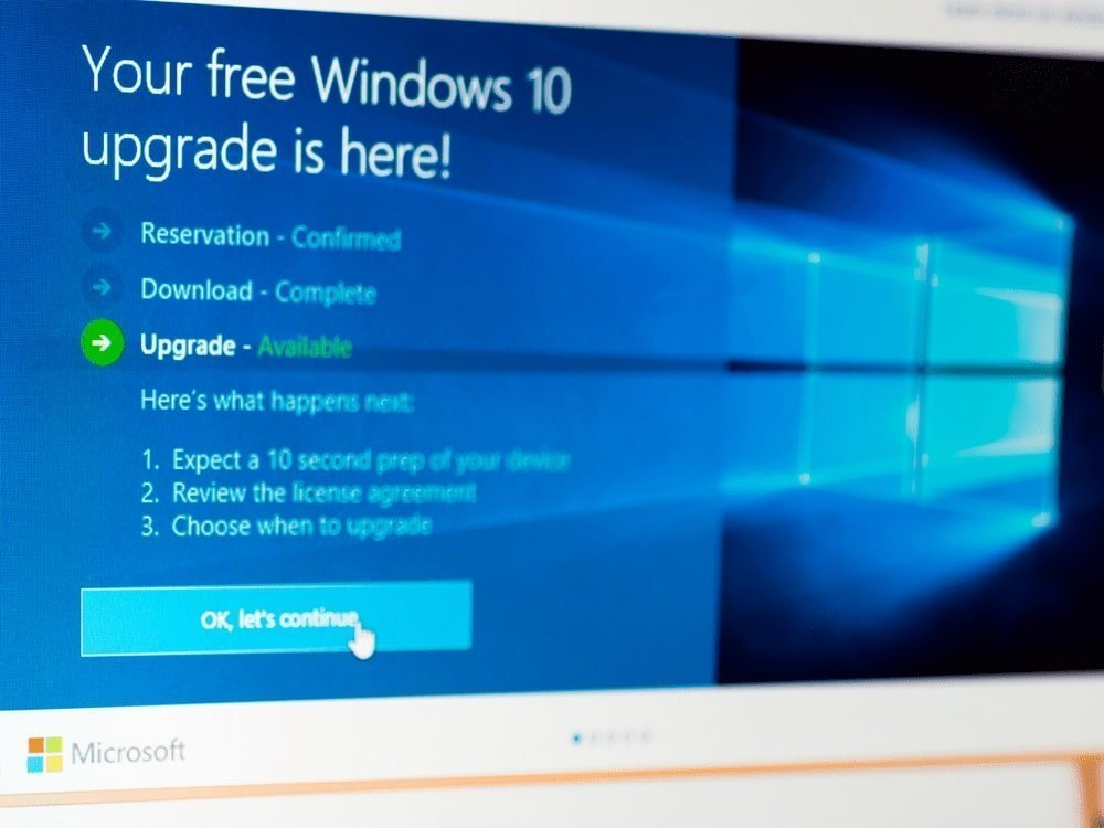 update windows 10