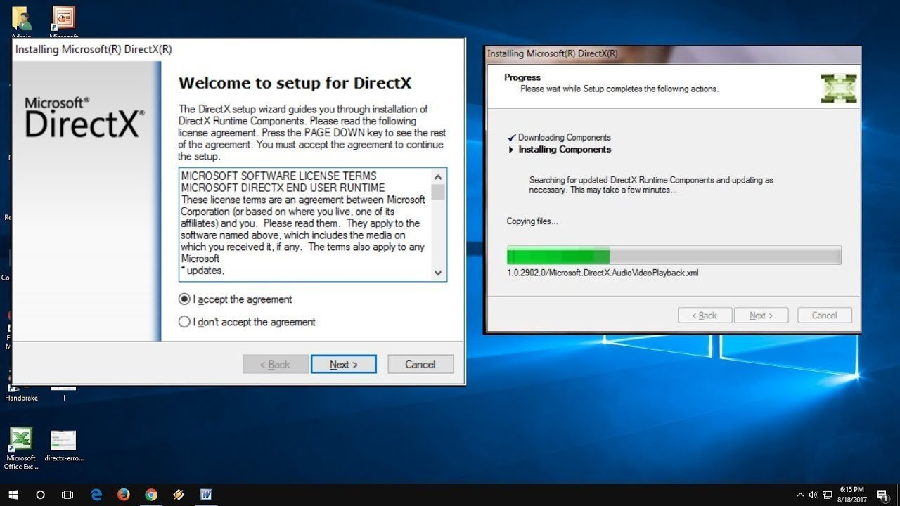 install directx boost performance for gaming