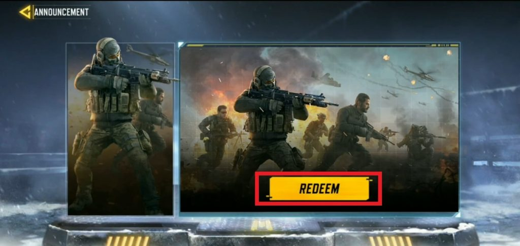 how to use redeem codes in call of duty mobile