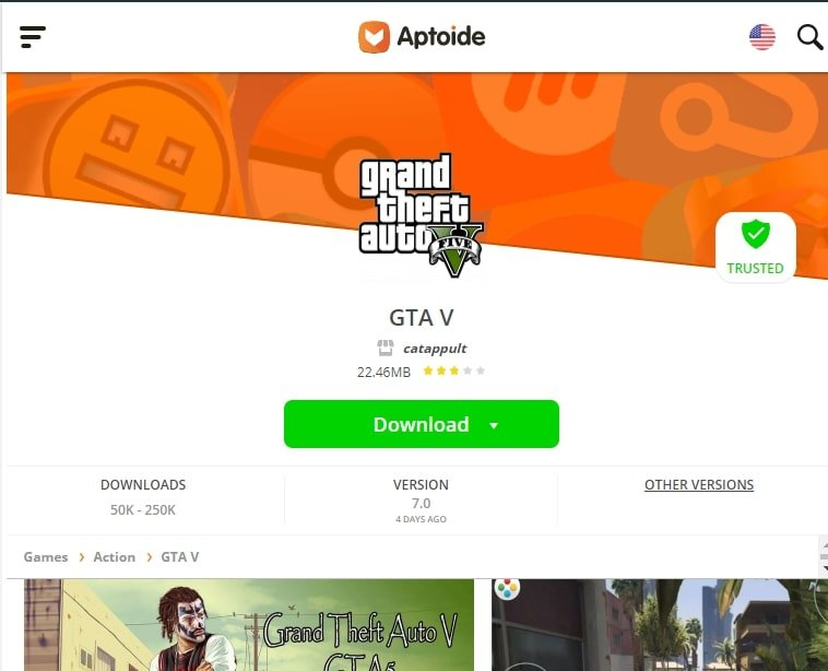 aptoide download android games