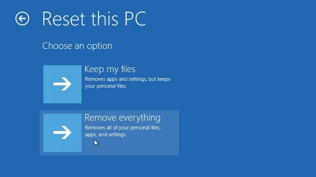 optimize windows 10 for gaming be resetting windows