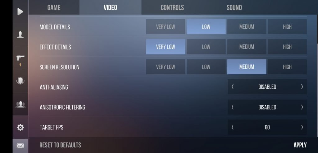 standoff 2 settings to fix lag