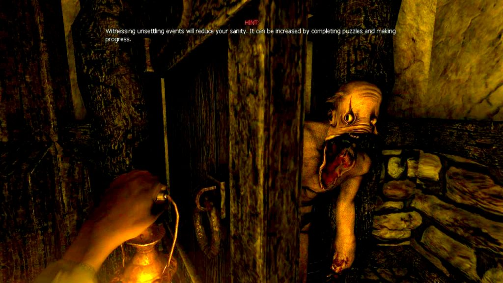 playing horror games without getting scared