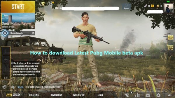 latest pubg mobile beta download