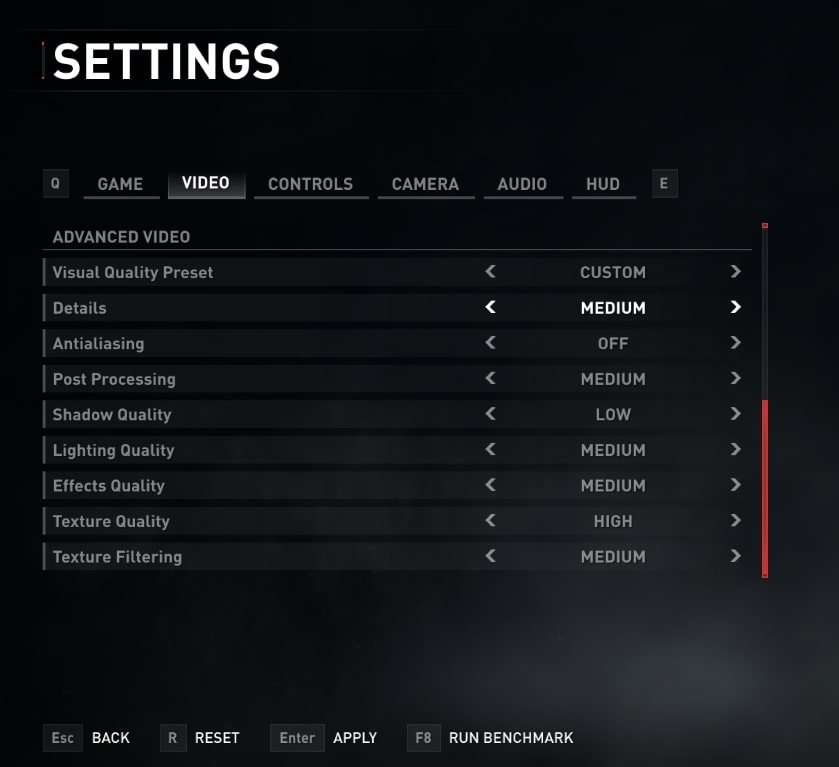 world war z settings to fix lag and boost fps