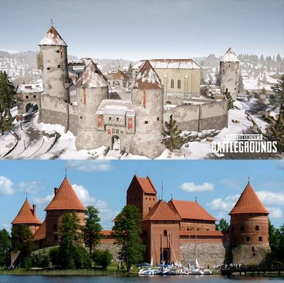 Castle Vikendi, Castle in Trakai, Lithuania.