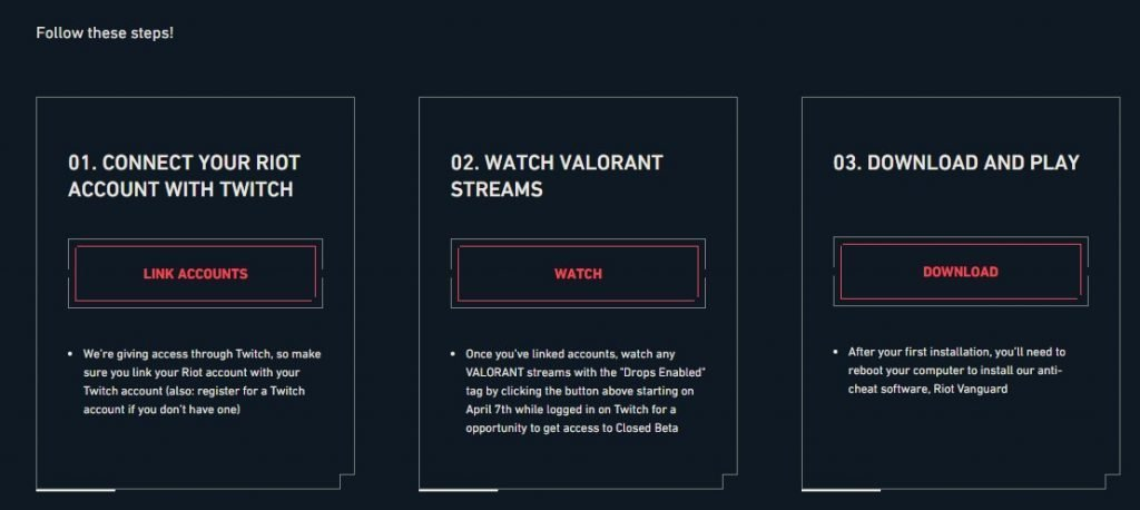valorant beta account key