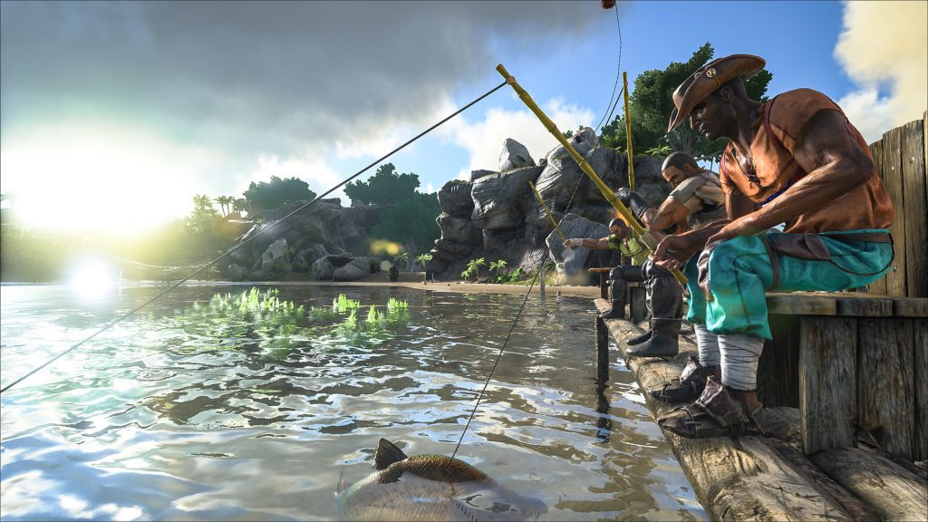 fishing simulation games