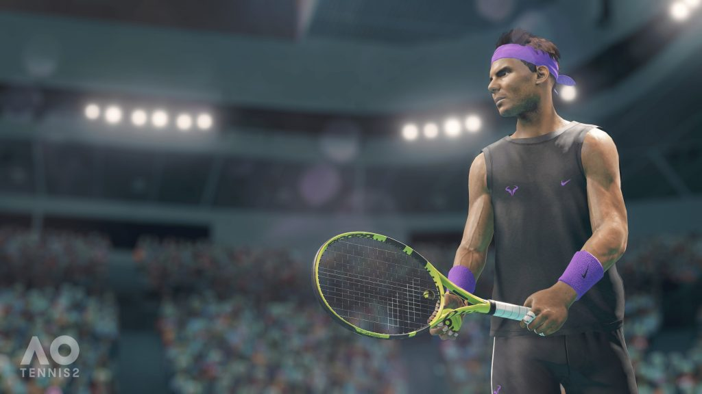 tennis simulation games AO Tennis 2