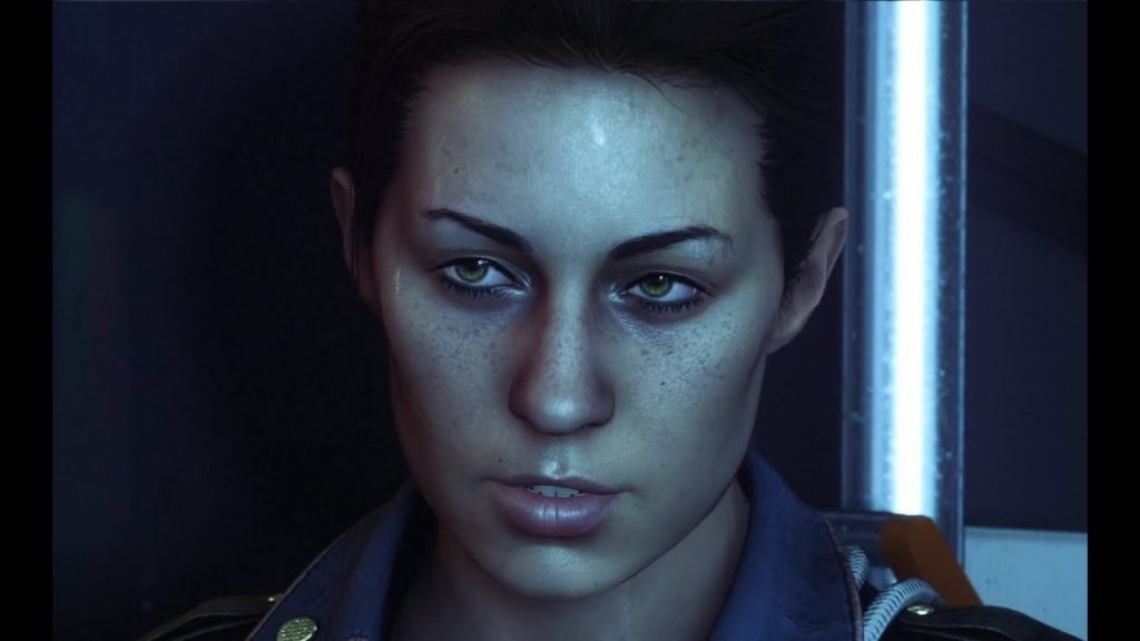Alien isolation female lead character amanda