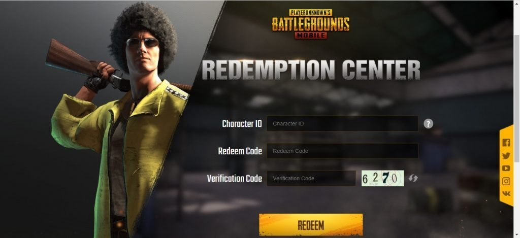 How to use redeem codes in Pubg Mobile - 3 easy steps