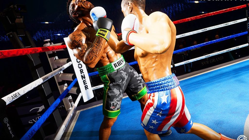 boxing simulation game