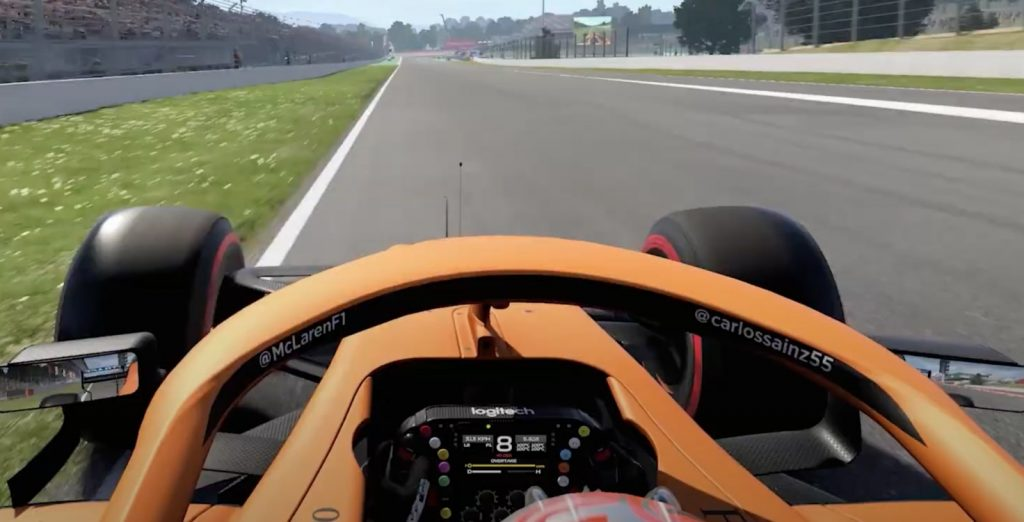 F1 2020 F1 Sports racing simulation game