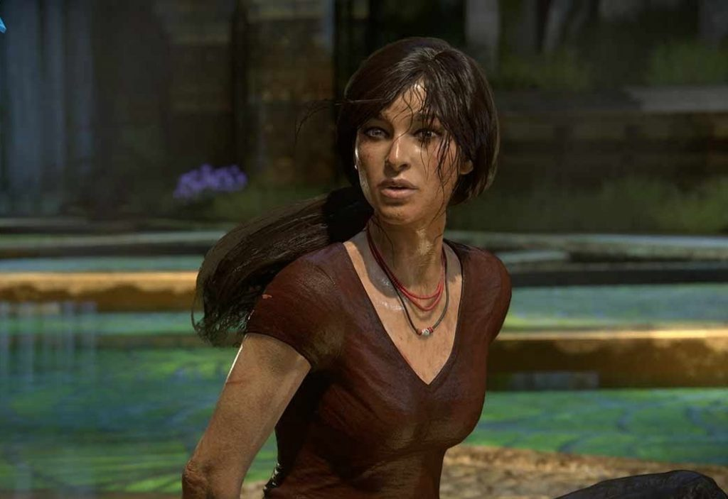 Chloe Frazer from uncharted lost legacy action games for girls