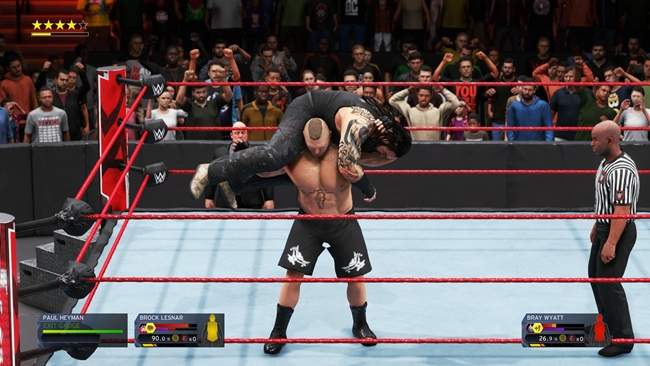 Professional wrestling game