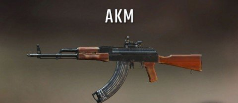 AKM Best rifle gun in pubg