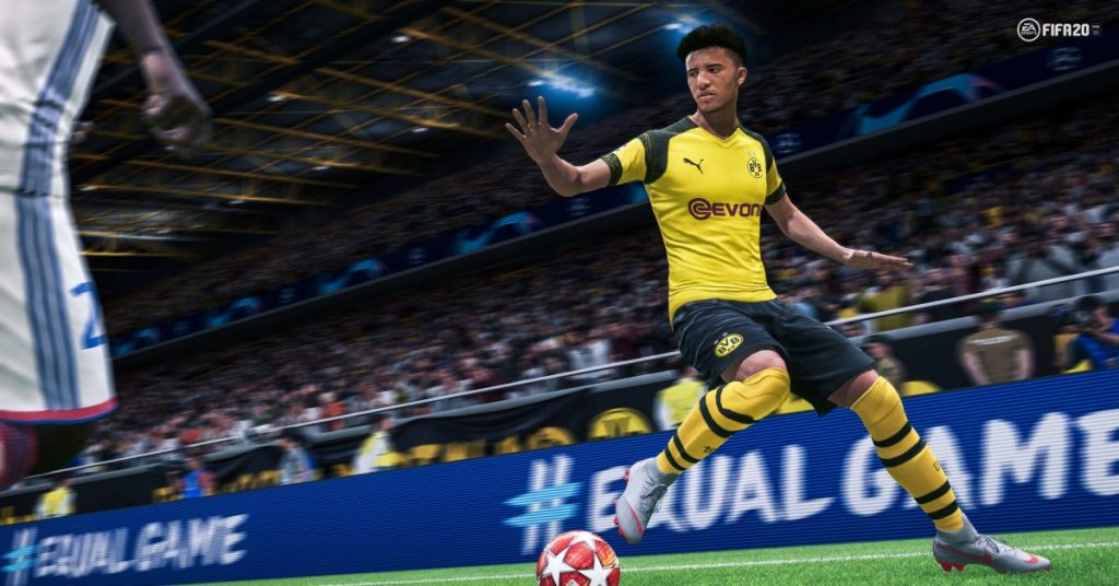 fifa 20 sports simulation game