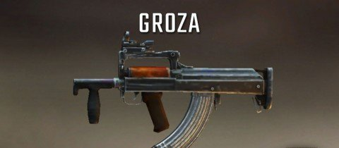 The best gun in pubg groza