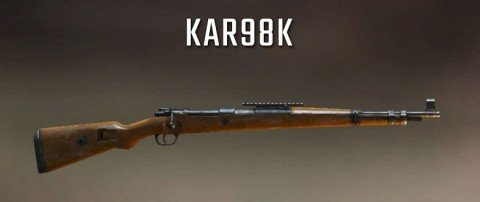 KAR98K Best sniper rifle pubg