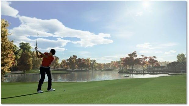 PGA Tour Golf Simulation Games