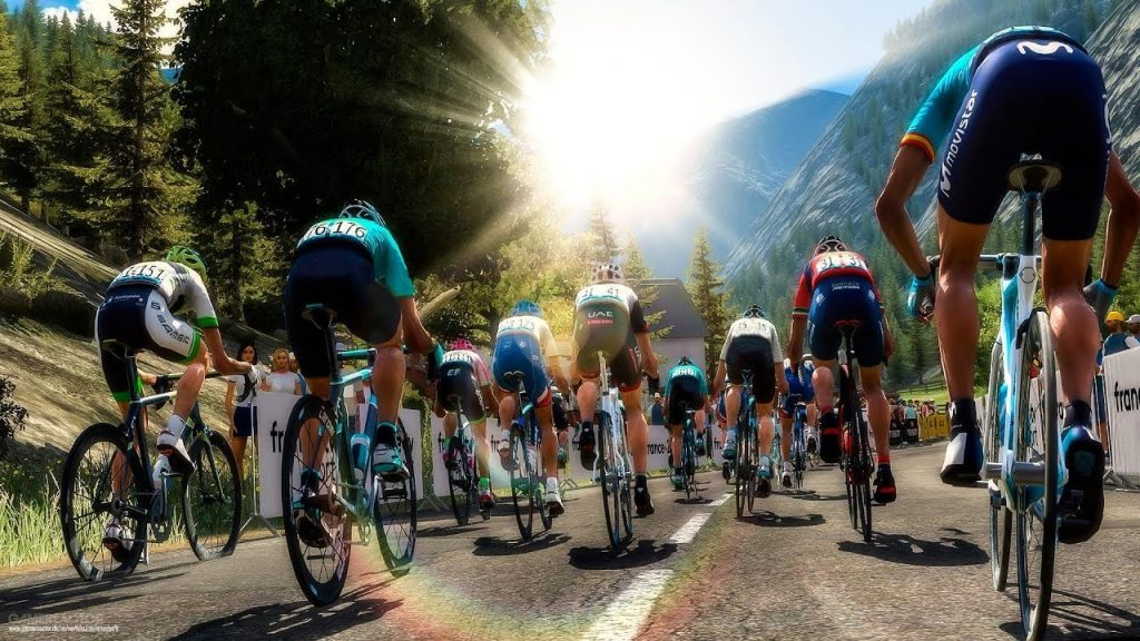 pro cycling simulation games