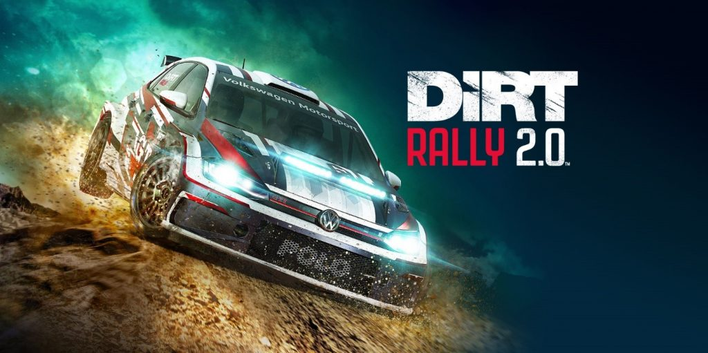 Driving simulation game dirt rally 2