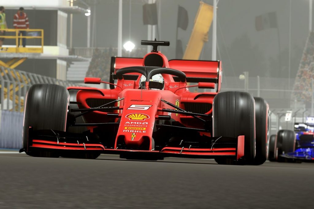 f1 2019 racing simulation game