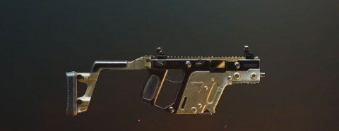 The best submachine gun in PUBG Vector