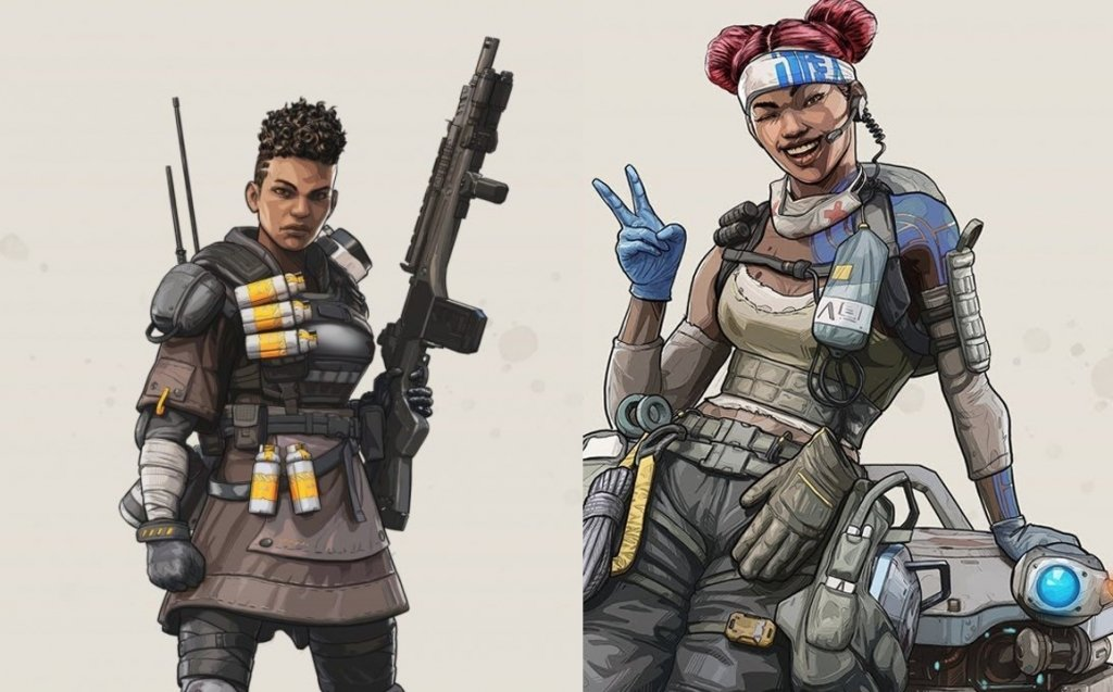Bangalore and Lifeline, black female lead protagonists