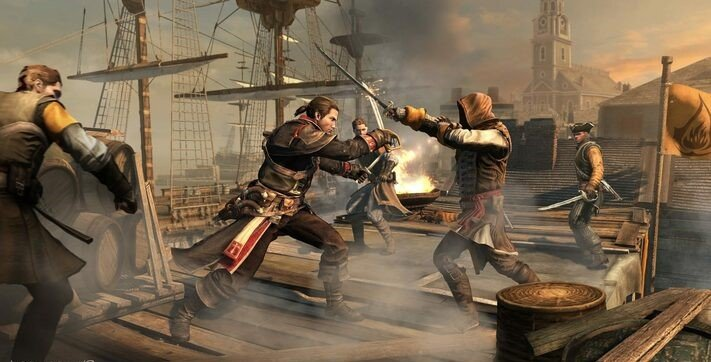 Assassin's Creed: Rogue best pirate game
