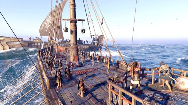 Assassin Creed Odyssey Pirates action