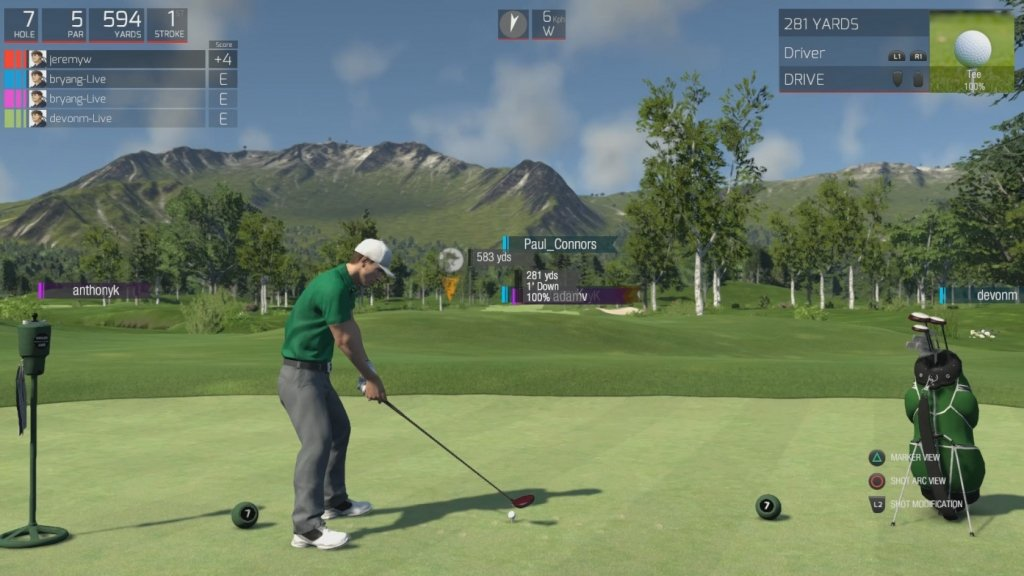 golf simulation games
