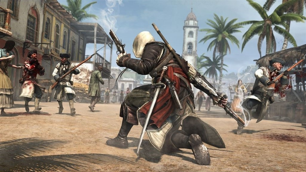 Assassin's Creed IV: Black Flag best pirate game ever made