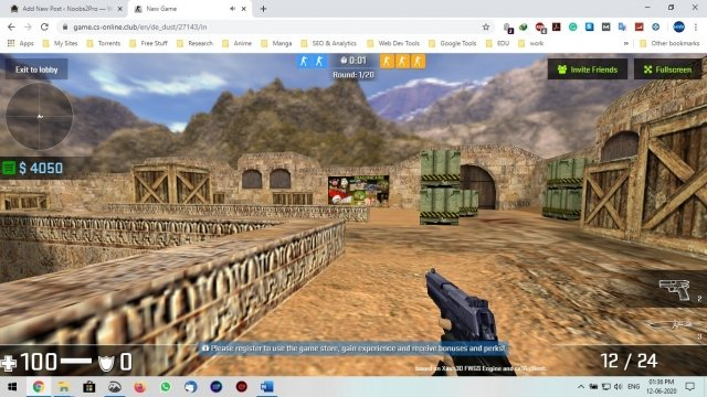 cs 1.6 browser game