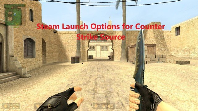 steam launch options counter strike source