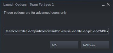 team fortress 2 steam launch options