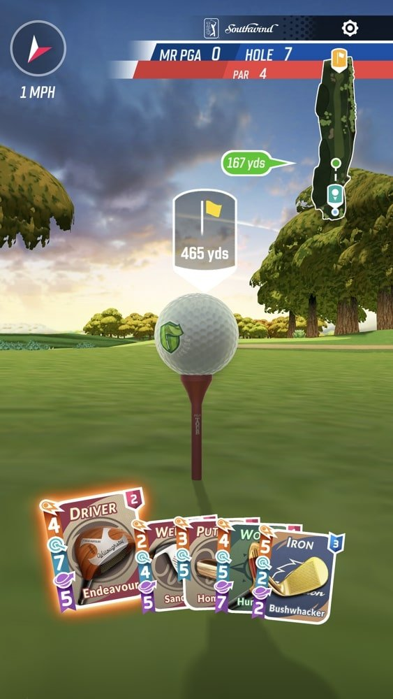 best ios golf games simulation games