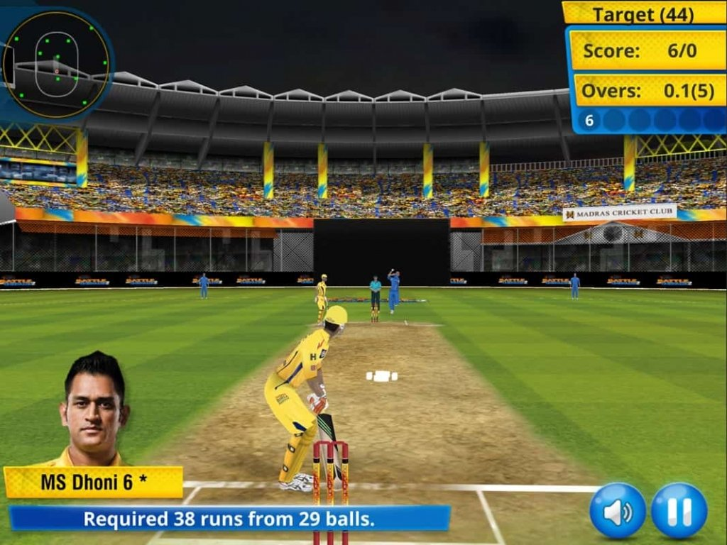 cricket games for ios