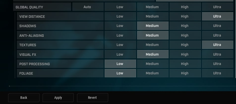 rogue company best graphics settings to fix lag