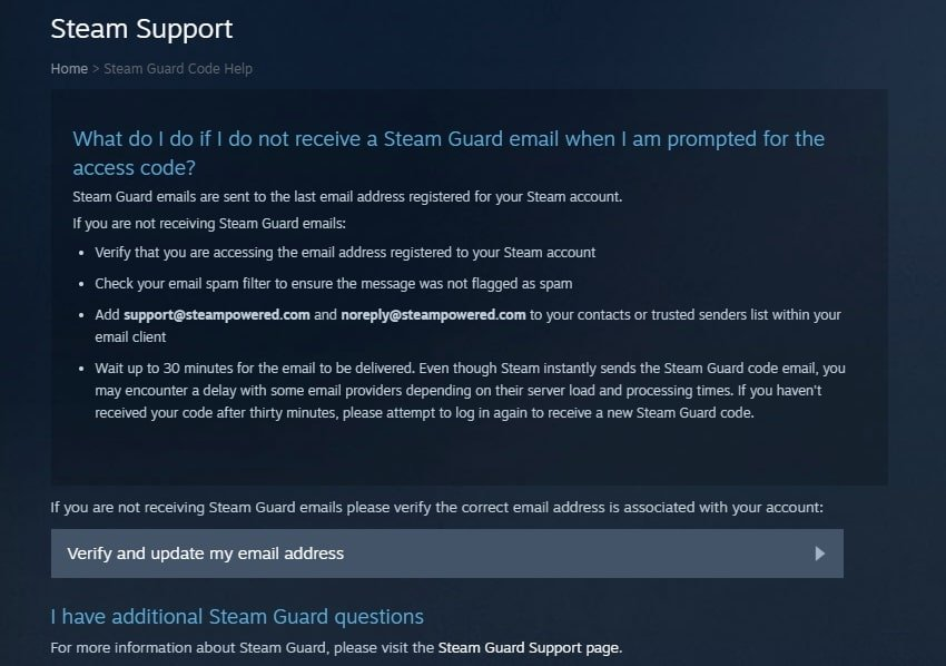 recover your steam from hackers