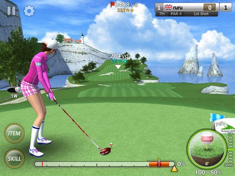 ios golf games