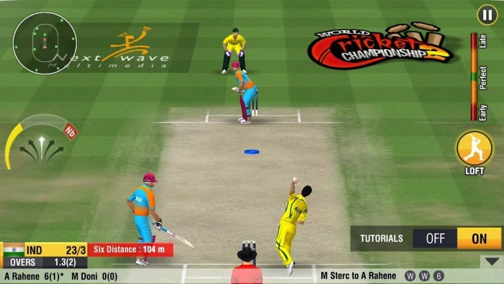 cricket games for iphone