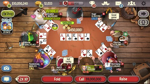 top poker games for ios