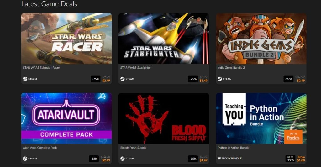 buy steam games for cheap