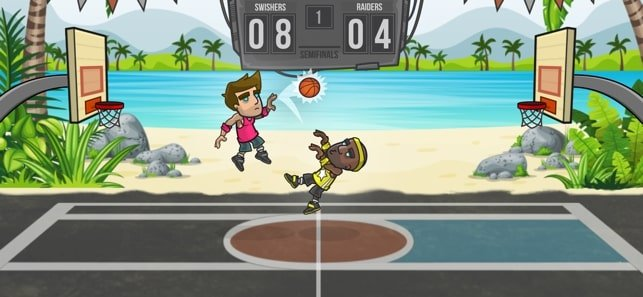 best street basketball games for ios