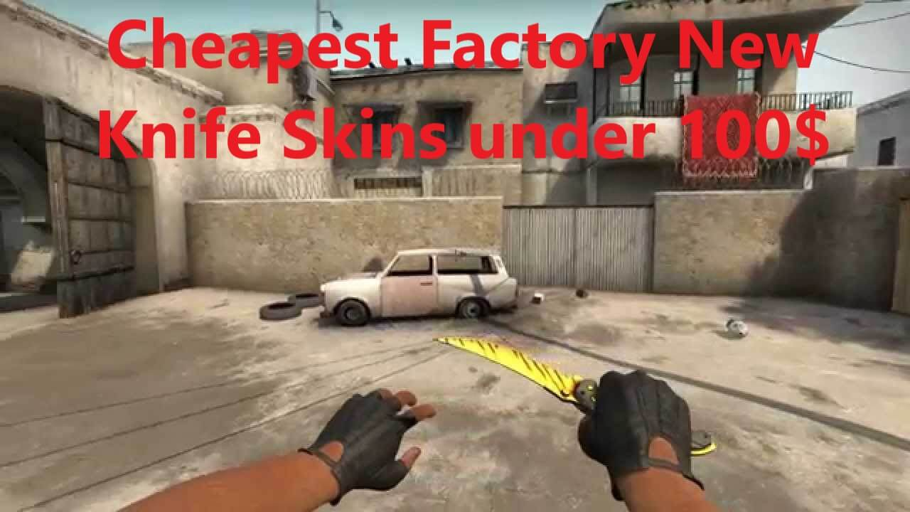 best factory new knife skins under 100$