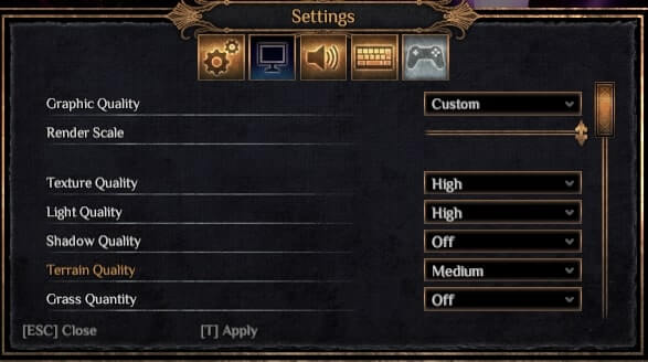 how to fix lag in outward: graphics settings guide