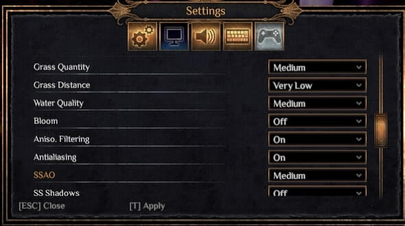 outward graphics settings