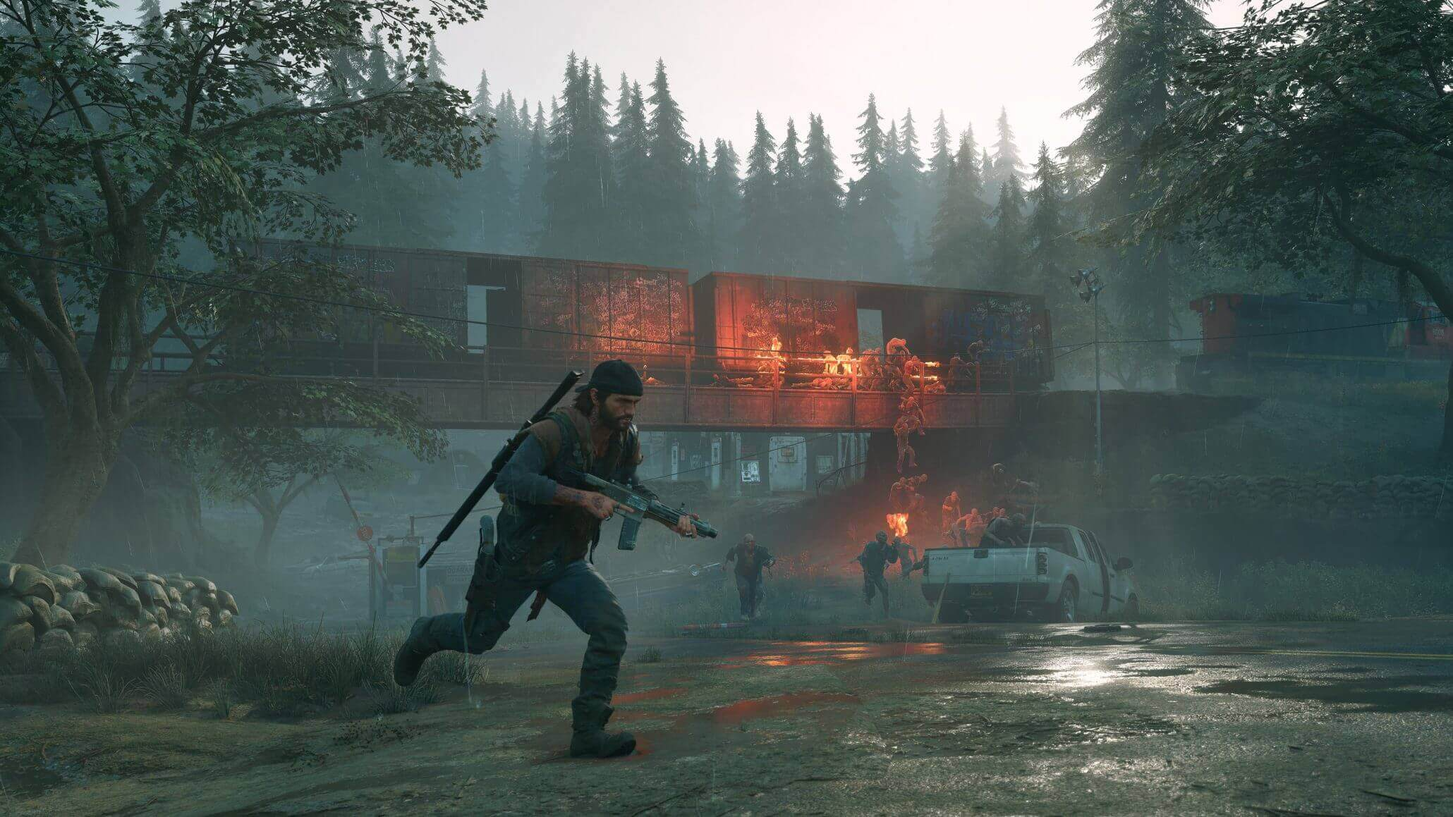 days gone game graphics settings to fix lag